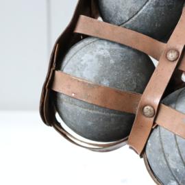 Vintage sport deco jeu de boules