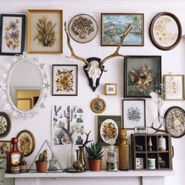 Blog: 5 x Gallery wall  ideeën voor thuis aan de wand.