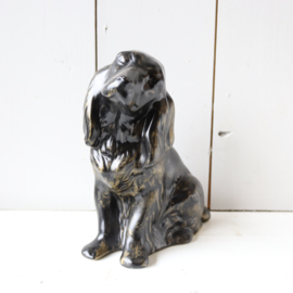 Vintage beeld hond