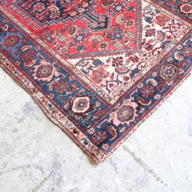 Vintage Perzisch tapijt 208 x 127