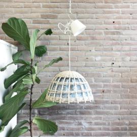 vintage hanglamp rotan