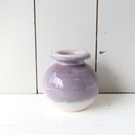Vintage vaas lila paars