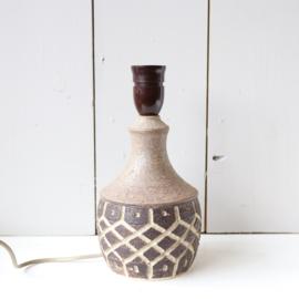 Vintage lampenvoet deens keramiek haslev
