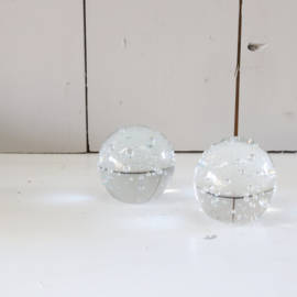 presse-papier glazen bal