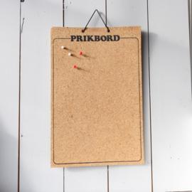 vintage prikbord kurk