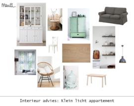 Interieur styling: Klein appartement