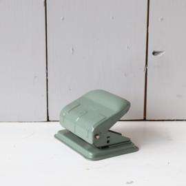 Vintage perforator groen