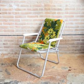 Vintage campingstoel retro