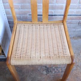 set papercord stoelen vintage