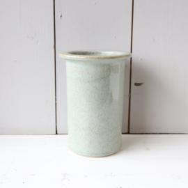 Vintage vaas licht blauw