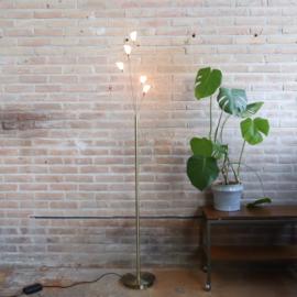 Vintage messing vloerlamp Bouvrie