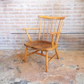 Vintage spijlen fauteuil