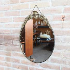 vintage spiegel messing