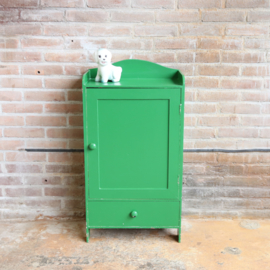 Vintage groen kastje