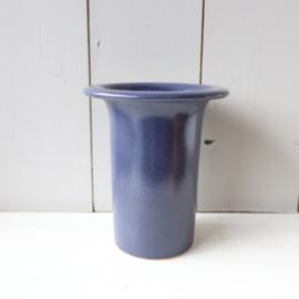 Vintage vaas blauw