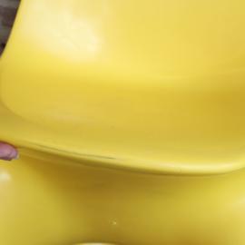 casala casalino stoel kind geel