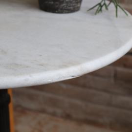 oud marmer bistro tafel