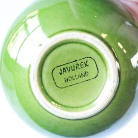 Vintage schaaltje groen