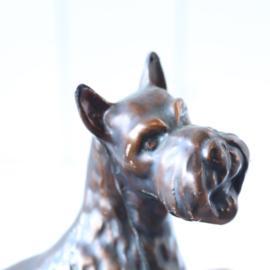 Vintage beeldje hond