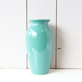 Vintage vaas turquoise