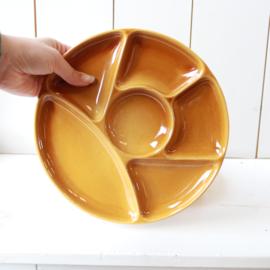 Set 4 oker geel borden