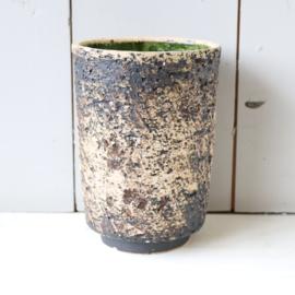 Vintage berkenbast pot