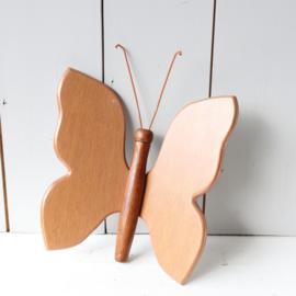 Vintage wand deco vlinder