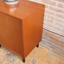 Vintage klein kast audio platenspeler
