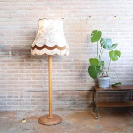 Vintage 'foute' vloerlamp franjes