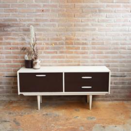 Vintage laag dressoir tv meubel