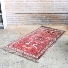 Vintage perzisch tapijt  157 x 80