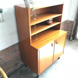 Vintage kast teak topform