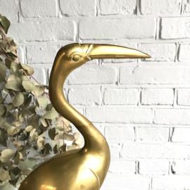 Messing vogel XL 60cm