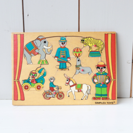 simplex puzzel hout circus