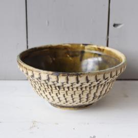 Vintage berkenbast schaal