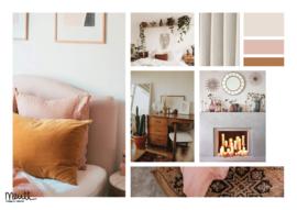 Interieur styling: Woonkamer / slaapkamer appartement Utrecht