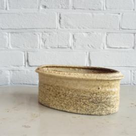 Vintage langwerpige pot