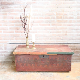 Vintage kist salontafel