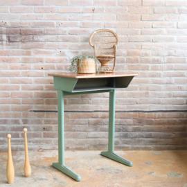 Vintage kinderbureau schooltafel