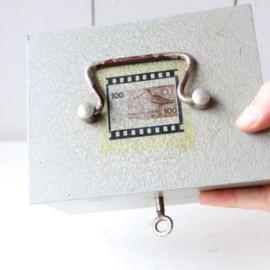 vintage geldkistje