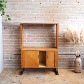 Vintage tv kast meubel