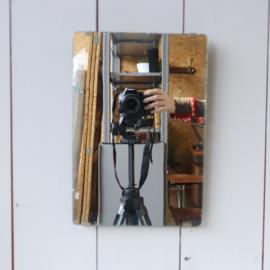 Vintage simpel spiegeltje
