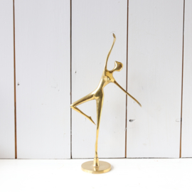 Vintage messing ballerina