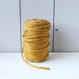Vintage rol touw oker geel