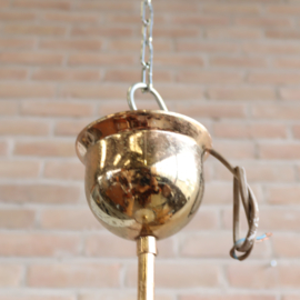 Vintage lamp messing glas