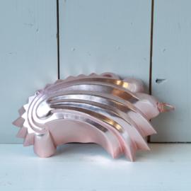 bakvorm schelp roze