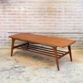 Vintage salontafel omkeerbaar blad