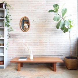 Vintage massief salontafel groot