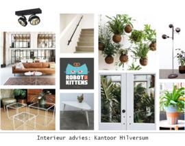 Interieur styling: Creatief kantoor Hilversum
