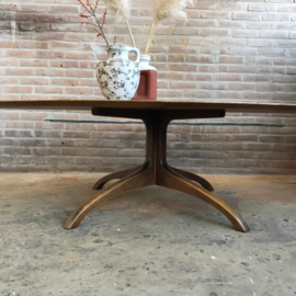 Vintage salontafel ovaal XL